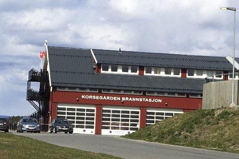 Utslipp: Spillvannet fra brannstasjonen på Korsegården har ifølge Ås kommune rent ut i overvannet og endt i Årungen.