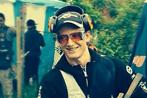 Norgesmester Filip Rasmussen fra Drøbak ble i helgen nordisk mester i nordisk trap.