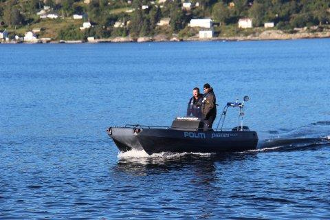 Politiet vil være til stede på sjøen denne helgen. FOTO: Ole Jonny Johansen