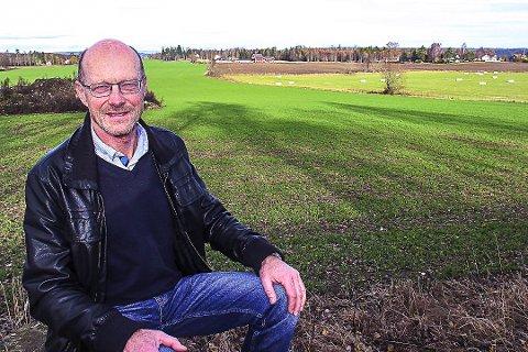 Klima: Landbrukssjef Lars Martin Julseth tror at vekstsesongen er lenger grunnet klimaendringer. Foto: Arkiv