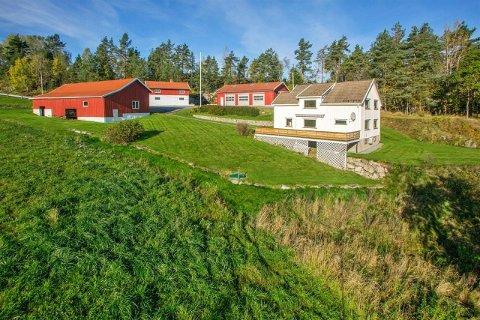 NORDRE FROGN: Interessen har vært enorm for småbruket på Knardal. Hele 136 personer hadde satt seg på liste hos megleren. FOTO: Inviso v/ Per O. Skjellnan
