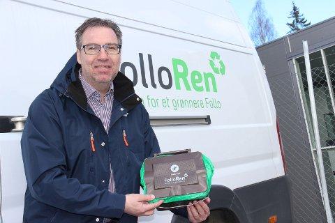 Håndterer søppelet: Daglig leder i Follo Ren, Runar Jacobsen, er trygg på at det interkommunale renovasjonsselskapet sørger for å samle inn og håndtere den ekstra søppelmengden ved jul- og nyttår.