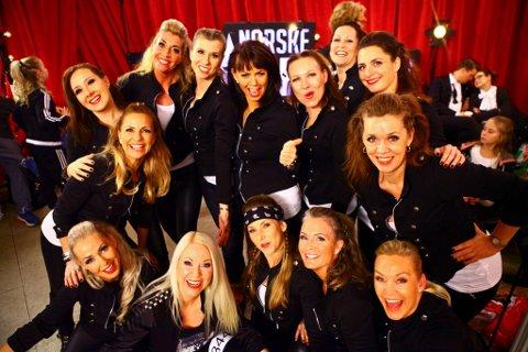 Dans har ingen aldersgrense: Mdonnaz består av femten damer fra 40-54 år.