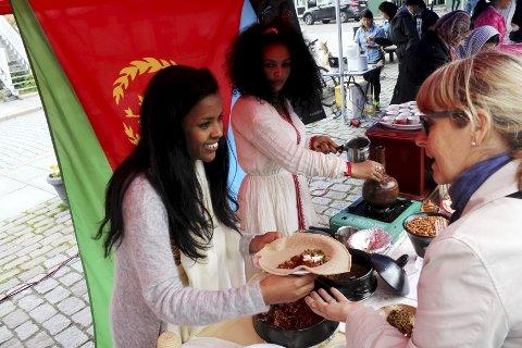 Mye godt: Er du glad i god mat, bør du besøke Drøbak torg lørdag formiddag. Arkivfoto