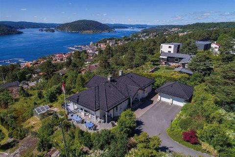 Salgsrekord: Dette huset i Drøbak gikk for 15 millioner kroner. Det skal være tidenes dyreste enebolig i Drøbak.