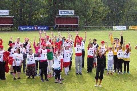 Alle idrettsglade mennesker ønskes velkommen til søndagens Frogniade.