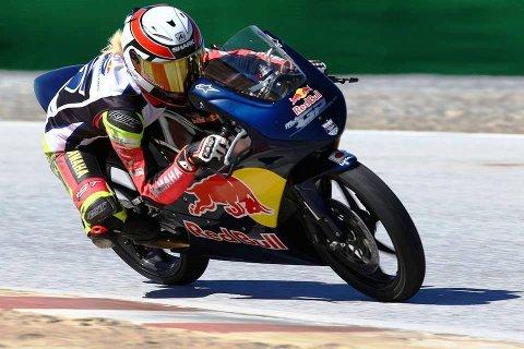 Mia fikk testet seg skikkelig under Selection Event Red Bull MotoGP.