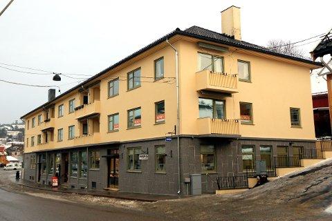 HAR PUSSET OPP: Grøn-Hansengården er ferdig opppusset.