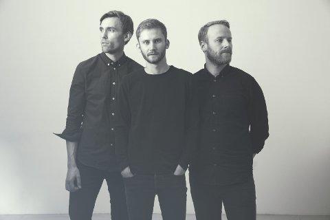 Trio: Erlend Apneseth, Stephan Meidell og Øyvind Hegg-Lunde. Foto: Julia M. Naglestad