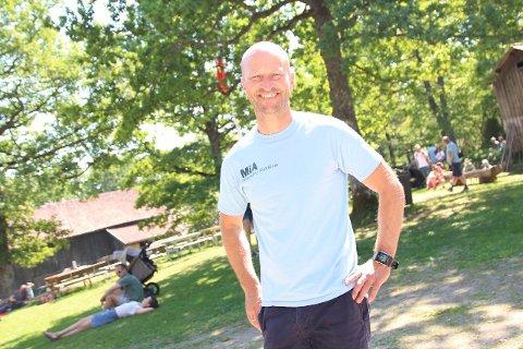 Henrik Smith, direktør ved Follo museum, skal holde jubileumstalen under søndagens olsokfeiring. FOTO: Tor-Arne Dunderholen.