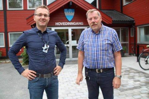 SIKKERHET: Det er Rune Hammer og Bjørn Edholm i Frogn kommune som skal sørge for at sikkerheten ivaretas for deg og meg.