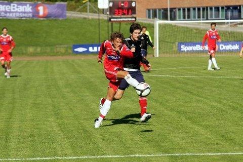 Rino Falk Larsen da han spilte for DFI