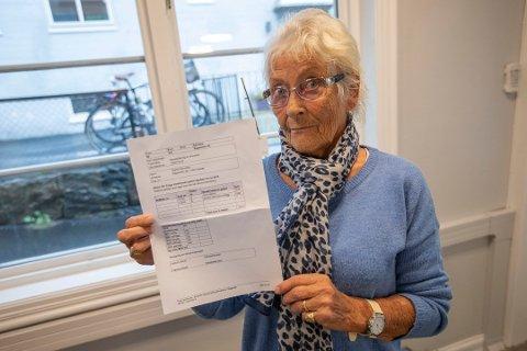 FÅR MEDHOLD: Frogn kommune reduserer nå gebyrsatsen etter at Amta skrev om Sigrid Halvorsens svært høye regning fra Frogn kommune for å behandle søknaden hennes om piperehabilitering.
