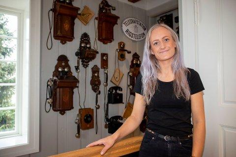 Daglig leder Anjeliva Klemetsen Martinsen kan fortelle om en god start etter at Telegrafen åpnet dørene 14. september.