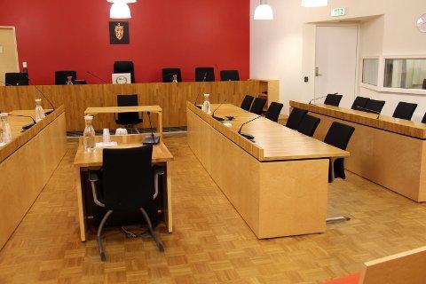 TILTALT: Mandag må nesoddkvinnen  møte i Follo tingrett tiltalt for blant annet vold mot offentlig tjenestemann. FOTO: Arkiv