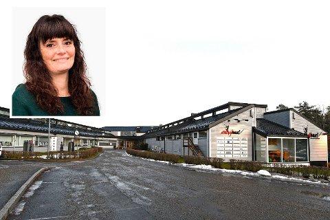 Eva Nyhagen har etablert seg på Rehabsenteret, over nyttår åpner hun opp for pasienter. Foto: Trond Folckersahn/privat