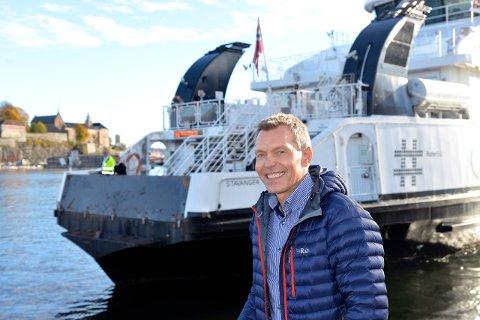 Driftsinspektør Jarle Myrbø sier Norled setter sikkerheten først.