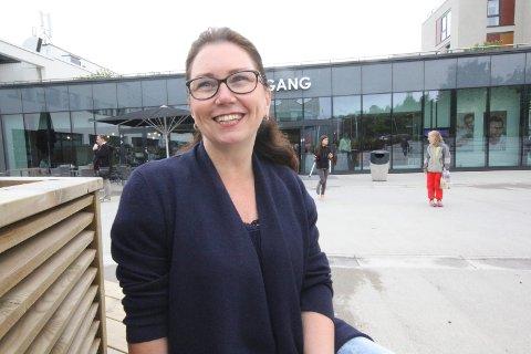 FORNØYD: - Vi er fornøyd med omsetningen, sier senterleder Jorun Røed ved Tangen Senter. FOTO: Arkiv
