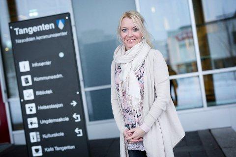 UNGDOMSSATSING: Kommunalsjef Ellen Knutsen er fornøyd med ungdomssatsingen Nesodden vil ha til sommeren.