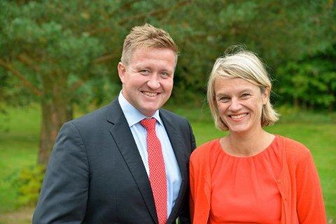 Truls Wickholm og Nina Sandberg har en rekke forslag for bedre klima på Nesodden.