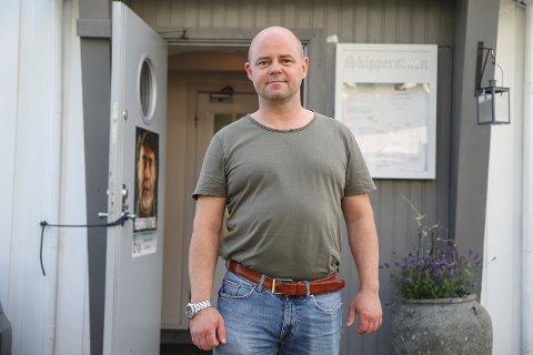 Lloyd Fredrik Klüwer daglig leder på Skipperstuen.
