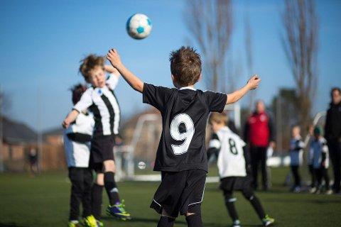 barn og fotball