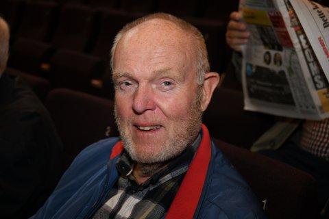 Valgdebatt: Tom Kristiansen var på plass i Smia under valgdebatten tirsdag. Foto: Trond Folckersahm