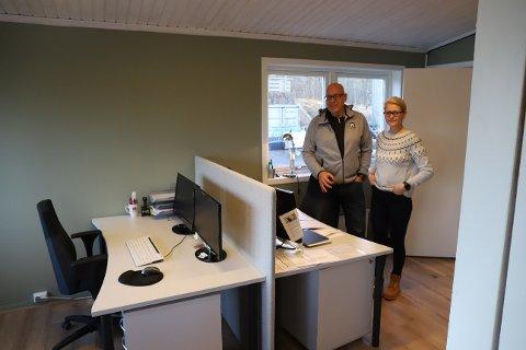 Endelig nytt kontor for administrasjonen i Nesodden IF.