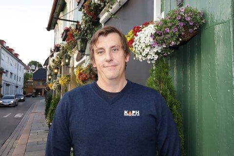 KLARE: - Vi kommer til Drøbak 1. november, sier  Morten Simonsen hos Kaph Entreprenør. FOTO: Privat
