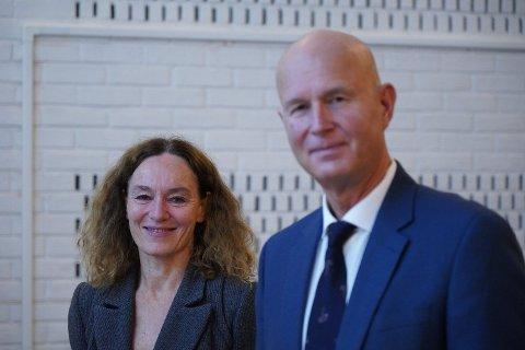 Direktør for Folkehelseinstituttet Camilla Stoltenberg og helsedirektør Bjørn Guldvog er svært uenig om endring av karanteneregler.