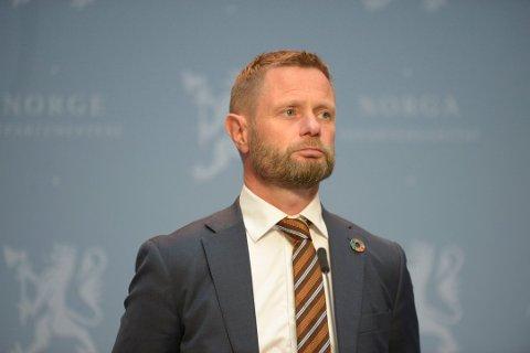 Helseminister Bent Høie kaller inn til pressekonferanse onsdag.