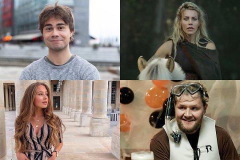 Her ser du kjendisene Alexander Rybak, Silje Torp, Jennie Sofie Lie Pickl og Martin Lepperød. Disse er med på listen over Amtas kjendisliste.