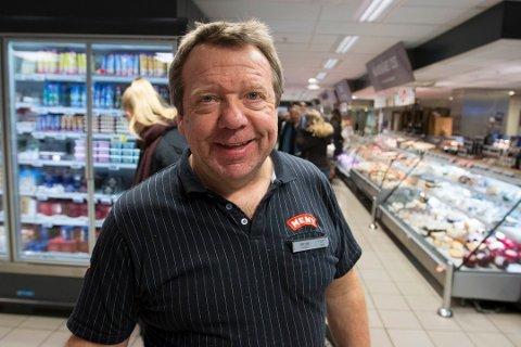 MENY TANGEN SENTER: Kjøpmann Per Arne Finstad.