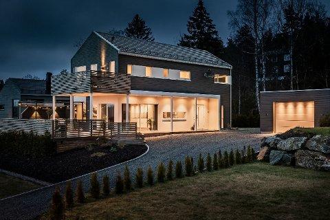 KUPPET: Berger Terrasse 4 i Nordre Frogn ble kuppet til 170.000 kroner over takst, og ble solgt for 5.650.000 kroner.