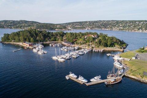 NORMALT: Foreløpig er de ingen restriksjoner for båtfolket ved Oscarsborg gjestehavn.