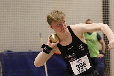 EN UTFORDRING: Eirik Halfdansen Aspen ble nummer fem i kule.