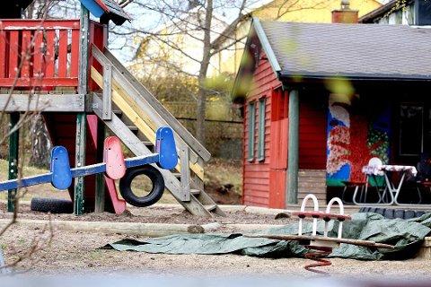Mandag 20. april starter Nesodden kommune gradvis gjenåpning av barnehagene. Foto: Ruben Skarsvåg