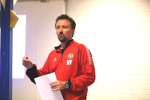 SAMFUNNSANSVAR: Styreleder Vidar Færgestad i DFI Fotball understreker at det er samfunnsansvaret og det faktum at idretten utgjør en viktig ramme for mange barn og ungdommer som gjør at de nå åpner opp for treninger igjen.