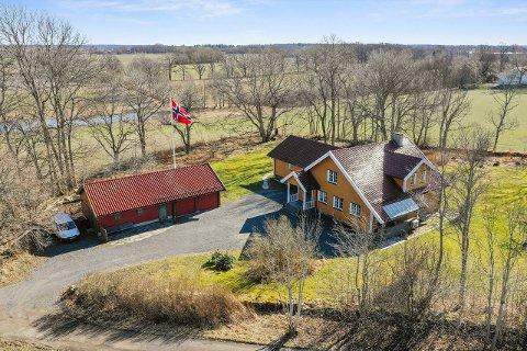 STOR INTERESSE: Interessen for denne eiendommen til 7,3 millioner på Oakhill i Rygge har vært uvanlig stor.