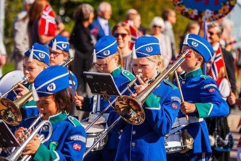 Nordre Nesodden skolekorps spiller opp i år som i fjor. Foto: Fotografen Samestad