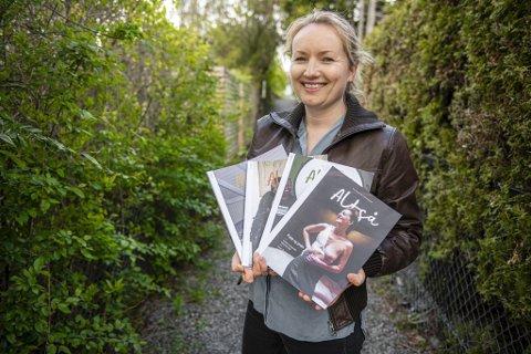 """Ida Eliassen-Coker, gründer av og sjefredaktør i magasinet ALTSÅ, føler seg som en vinner etter å ha blitt nominert til Medieprisen i klassen """"Årets nyskapning""""."""