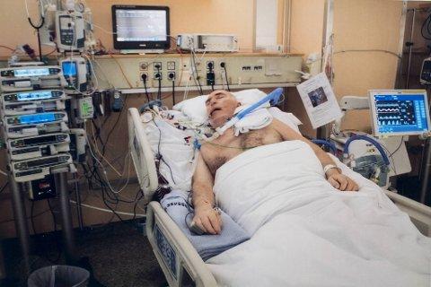 Per Rune Austgulen lå i koma i 13 døgn.