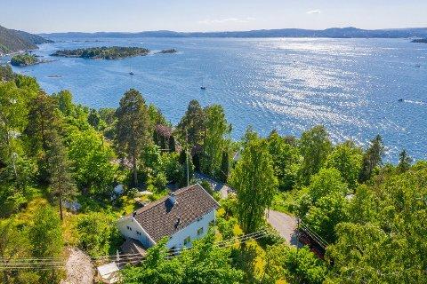 MANGE VIL LEIE: Denne boligen på Nesodden er til leie for 30.000 pr måned. I følge huseier Kristian Bye er interessen stor.