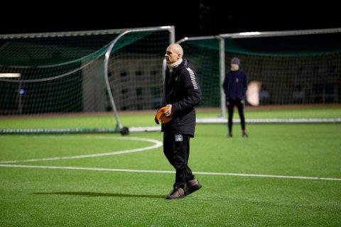 NYTT JUNIORLAG: Kristian Marius Semmen har meldt på et DFI-lag til for å gi spillerne nok kamper.