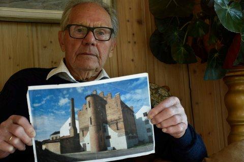 FANGEN I TÅRNET: Her satt Karsten Hansen på celle nummer 6 med en dødsdom hengende over hodet i 80 dager i 1944.