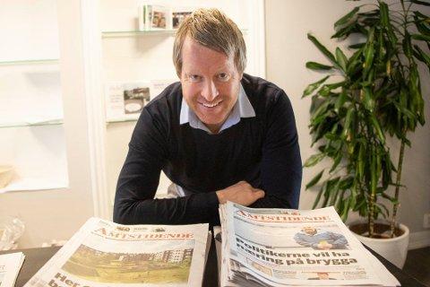 – 2020 tegner til å gi et større plussresultat enn 2018 og 2019., sier ansvarlig redaktør og daglig leder Mattias Mellquist. Foto: Tor-Arne Dunderholen