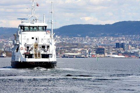 SJELDNERE AVGANGER: Det blir sjeldnere avganger i rushtiden på Nesoddbåtene fra mandag 30. november.