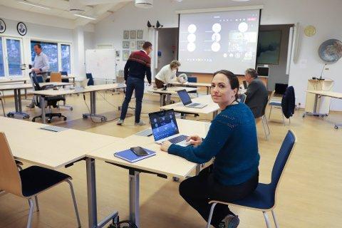 LOJALE: Kommuneoverlege Merete N. Hvistendahl ber alle være lojale mot den sosiale nedstengningen i to uker fremover.