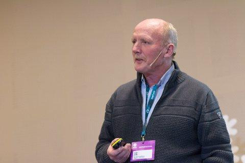 KLAR TALE: Harald Fagerheim har jobbet med sikkerhet og sprengning i over 20 år i Statens vegvesen, og er sjokkert over det han får høre om Oslofjordtunnelen nå.
