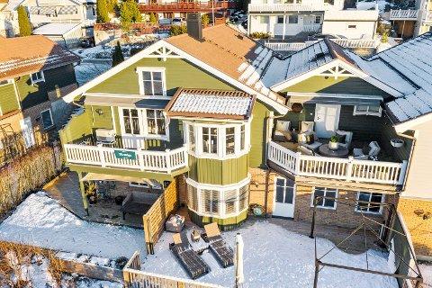 Denne boligen i Grenåveien ble kuppet før visning.